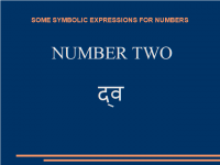 Some symbolic expressions for number «two»