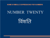 Some symbolic expressions for number twenty