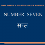 Some symbolic expressions for number seven