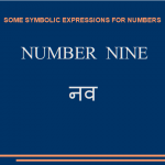 Some symbolic expressions for number nine